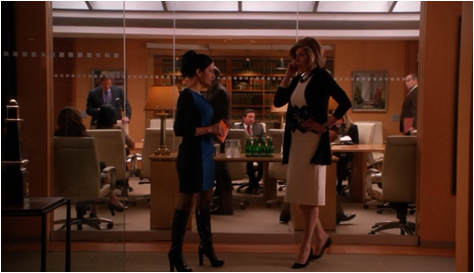 The Good Wife 5.21 Diane and Kalinda