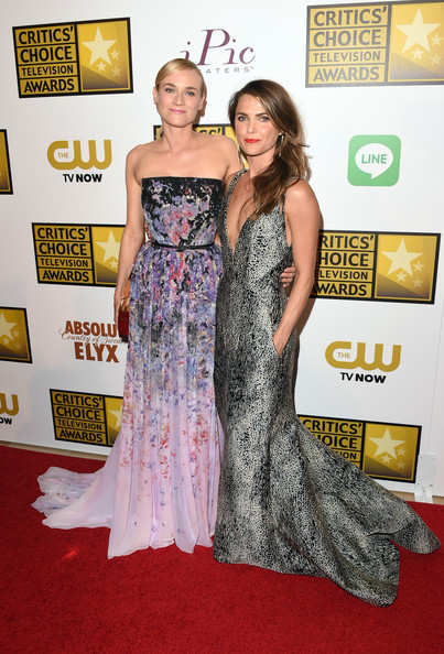 Keri Russell and Diane Kruger