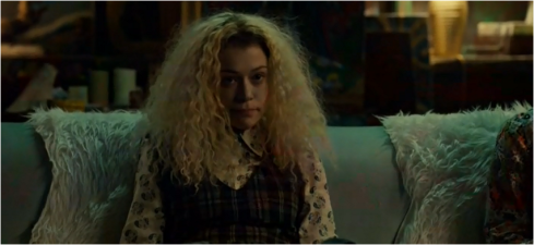 Orphan Black Helena plaid