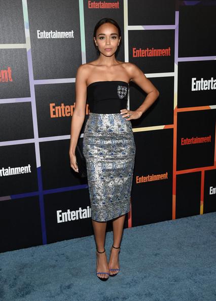 Ashley Madekwe's Mini Dress