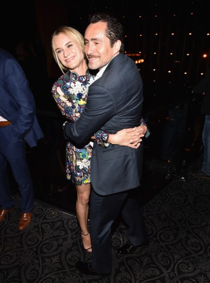 diane kruger and Demian Bichir