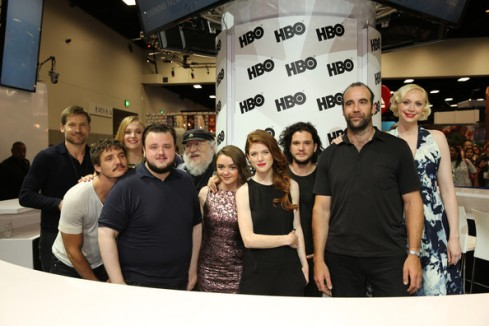 GoT cast SDCC