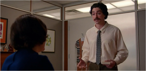 Mad Men 7.05 Peggy and Ginsberg