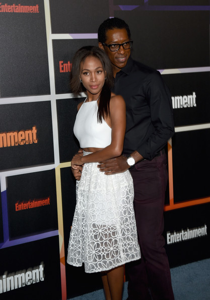 Nicole Beharie and Orlando Jones