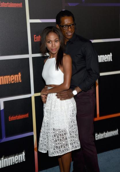 Nicole Beharie and Orlando Jones