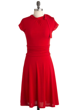 red dress modcloth