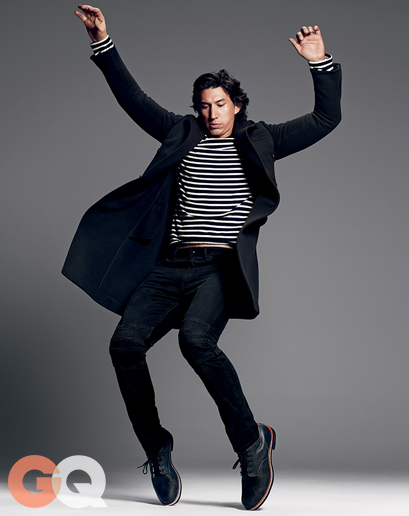 Adam Driver stripes