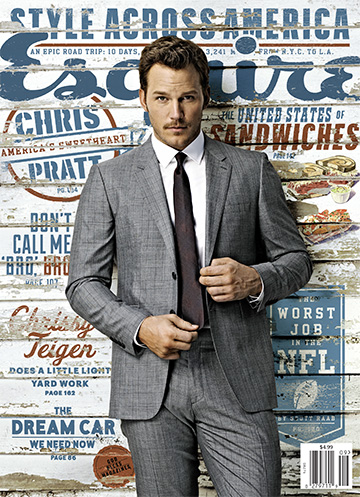 Chris Pratt Esquire