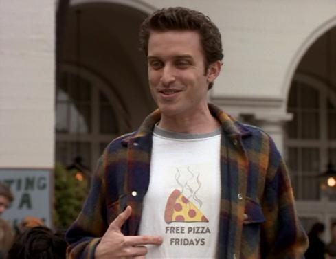 Felicity 2.18 free pizza
