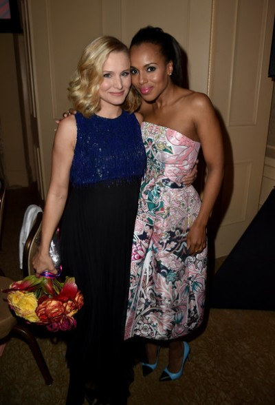 Kerry Washigton and Kristen Bell
