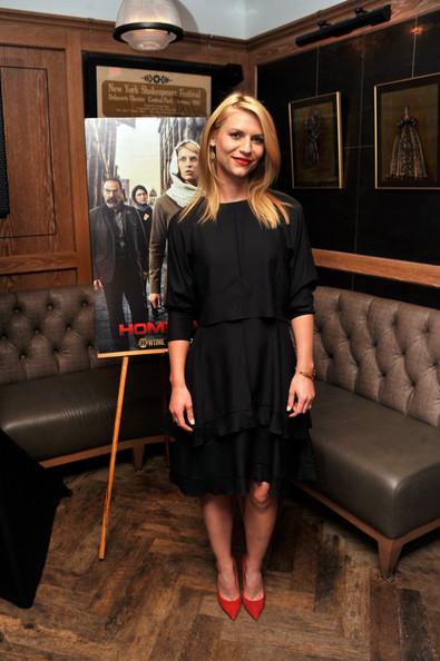 Claire Danes Homeland premiere