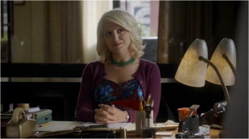 Masters of Sex 2.08 Betty in purple