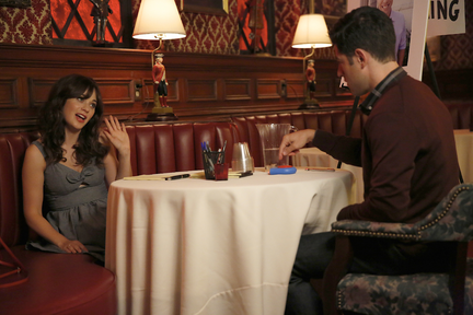 New Girl 4.02 dice
