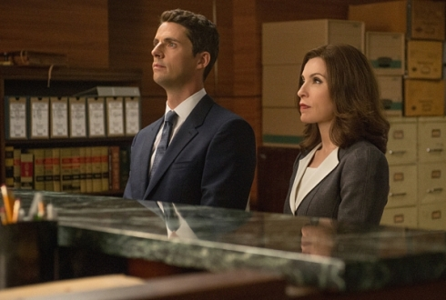 The Good Wife 6.01 Alicia and Finn