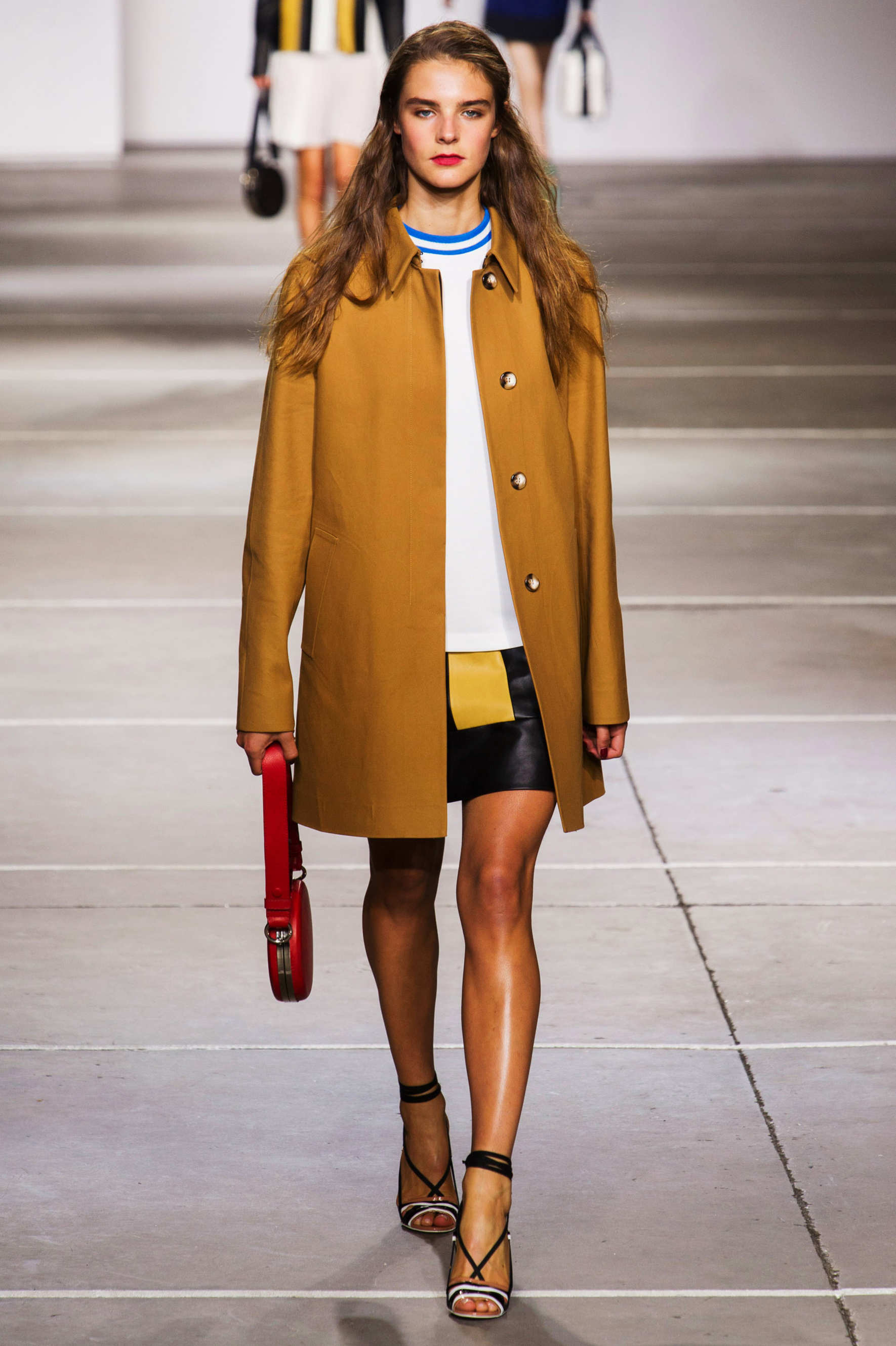 Topshop Unique Show At London Fashion: Dressing Elementary's Joan Watson With Spring 2015 London