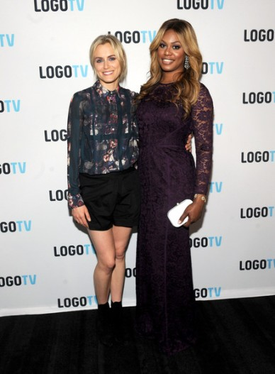 Laverne Cox and Taylor Schilling