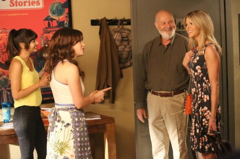 New Girl 4.03 Jess and Cece