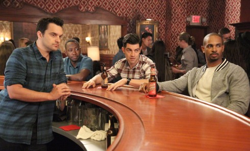 New Girl 4.04 the dudes