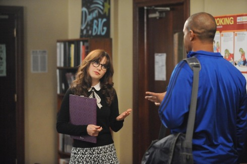 New Girl 4.05 Jess A+O sweater