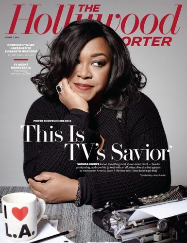 Shonda Rhimes THR cover