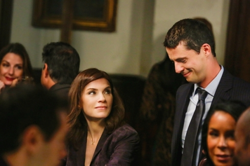 The Good Wife 6.04 Alicia and Finn
