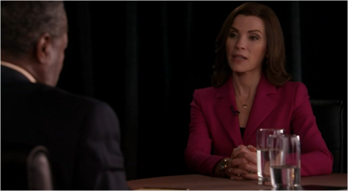 the good Wife 6.06 interview