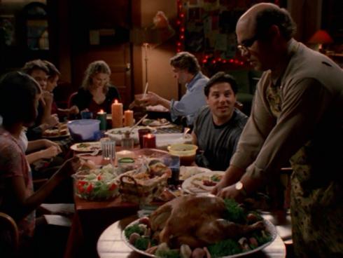 Felicity 1.09 Thanksgiving dinner