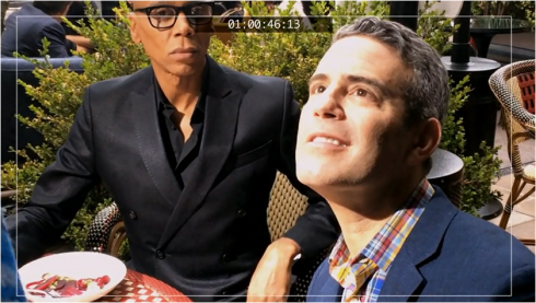 The Comeback 2.01 Andy Cohen and Ru Paul