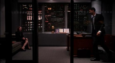The Good Wife 6.09 finn's office