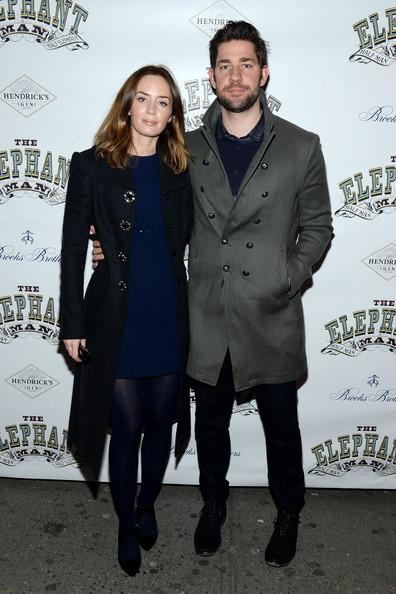 Emily Blunt and John Kransinski