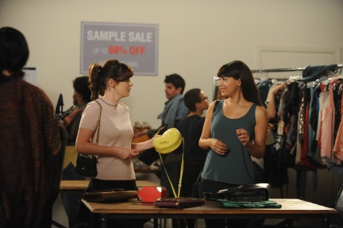 New Girl 4.10 girl fight