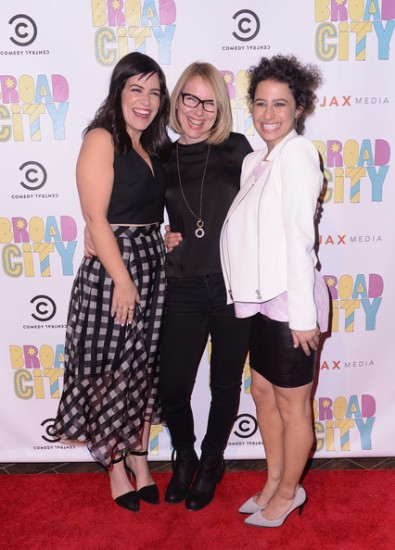 Broad City S2 premiere Amy Ryan
