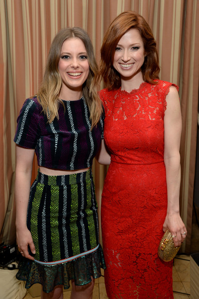 Ellie Kemper and Gillian Jacobs