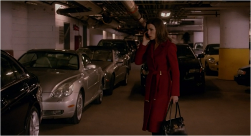 The Good Wife 6.11 DVF coat