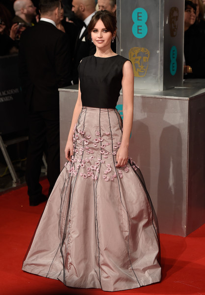 Felicity Jones BAFTA