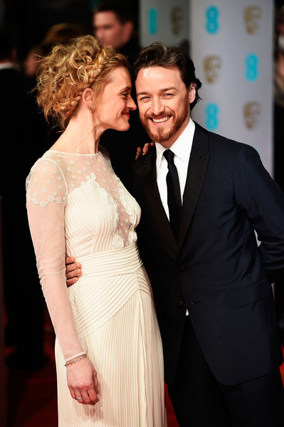 James McAvoy and Anne Marie Duff