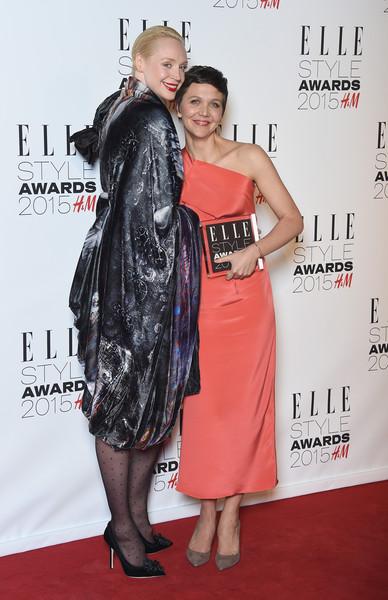 Maggie Gyllenhaal and Gwendoline Christie