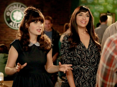 New Girl 4.15 Cece and Jess