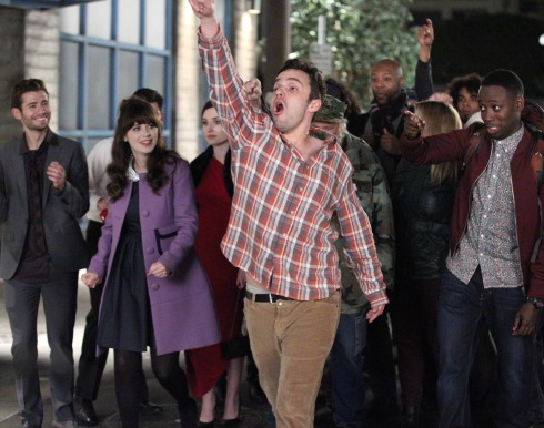 New girl 4.15 The Crawl
