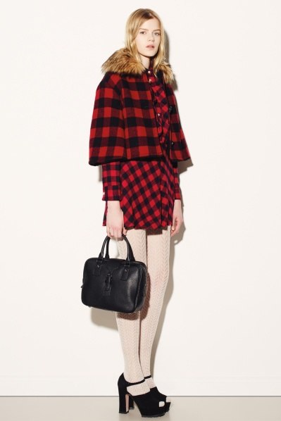 Red Valentino Red Check