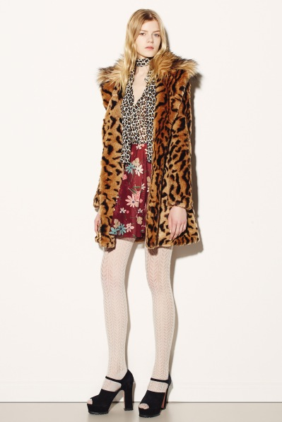 Red Valentino tiger coat