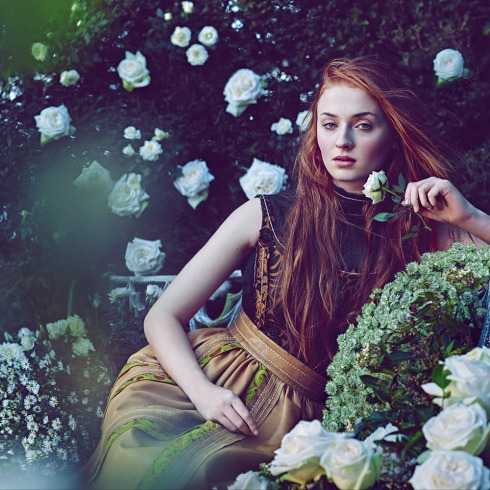 Sophie turner town and country