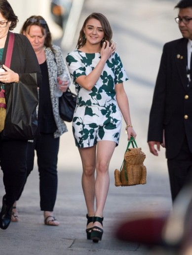 Maisie Williams Kimmel