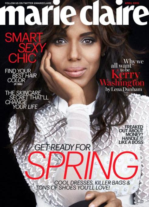 Marie Claire Kerry Washington