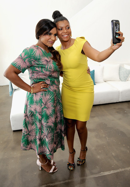 Taraji and Mindy