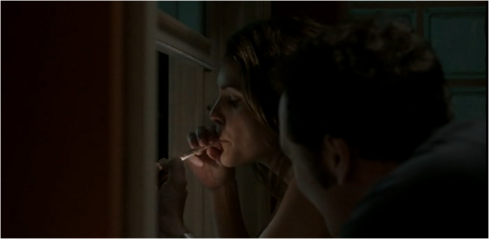 The Americans 3.06 smoking