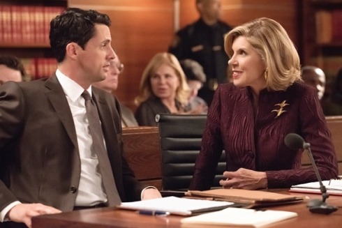 The Good Wife 6.15 Diane and Finn