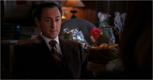 The Good Wife 6.17 Eli eyebrow