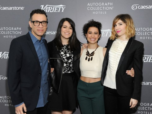 Variety panel - Fred, Abbi, Ilana, Carrie