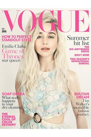 Emilia Clarke Vogue